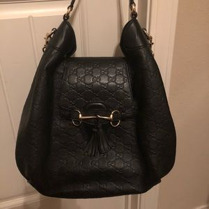 Authentic Gucci signature purse and wallet